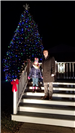 20181130_184750Lighting the Christmas Tree with Mayor Jeremy McCleary and Special Child Guest