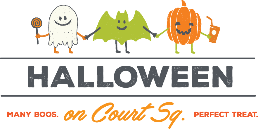 Halloween on Court Square logo
