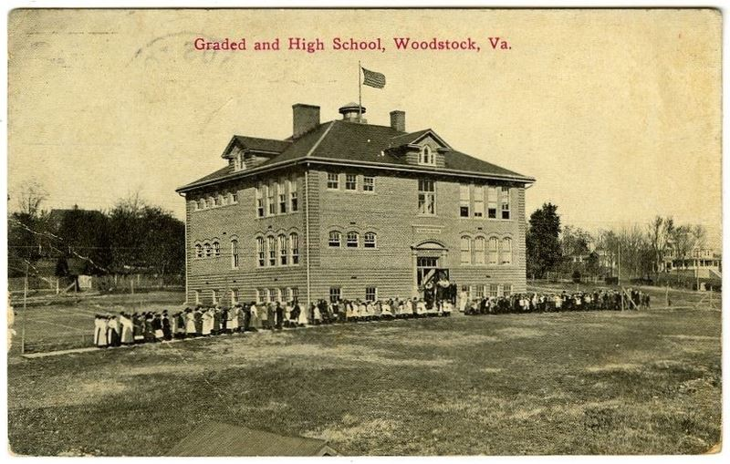 Woodstock School - historic